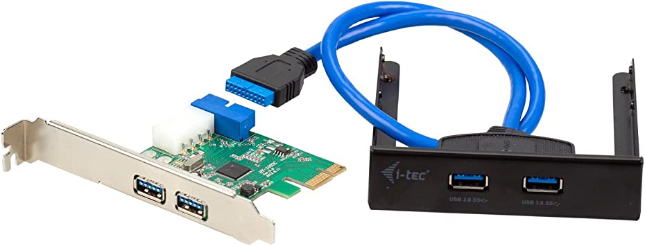 I-Tec USB 3.0 extender connectable to internal 20pin USB 3.0 connector