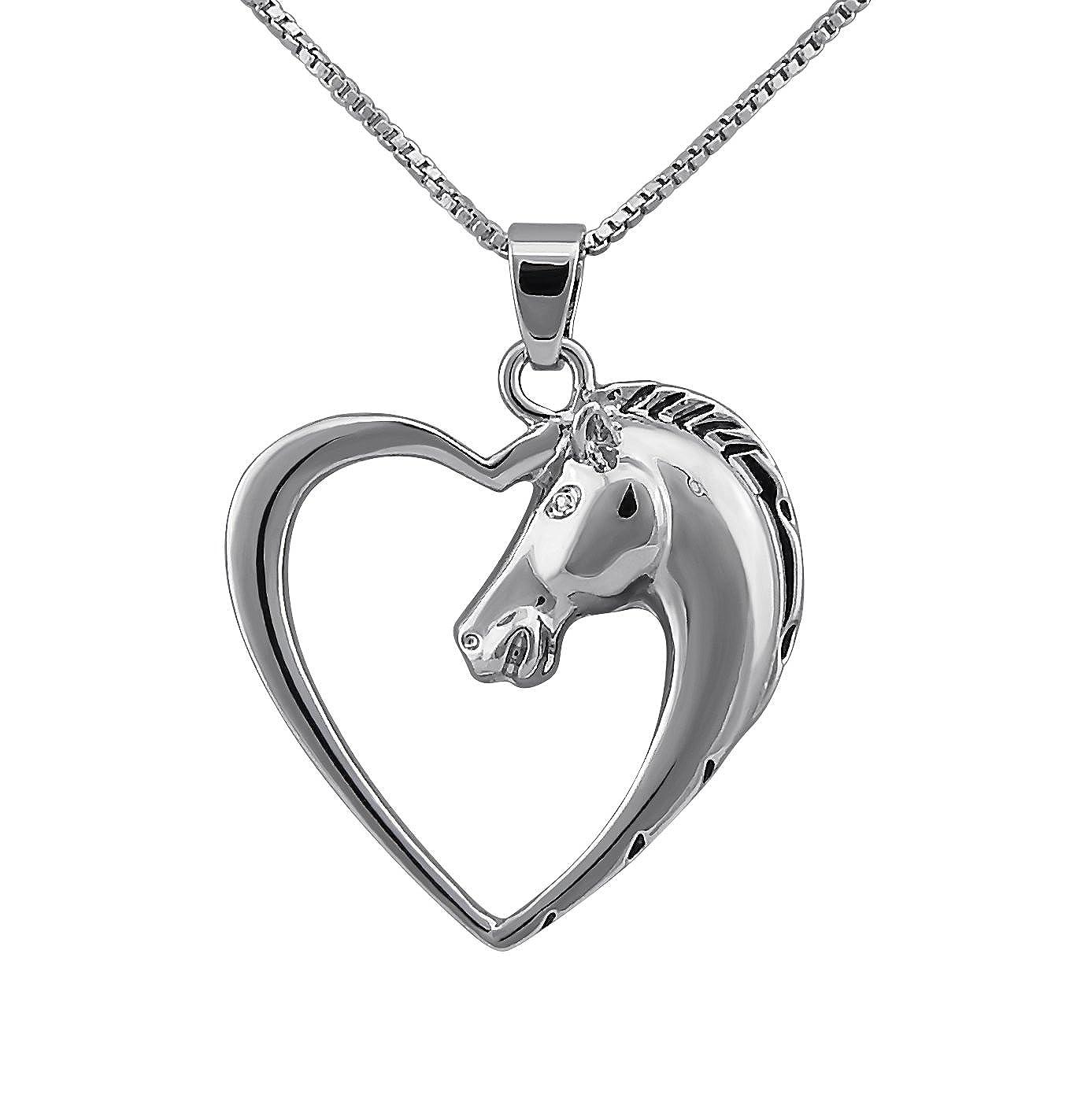 Kinder Armband Pferd Pony Reiten 925 Silber Armreifen Mädchen Damen