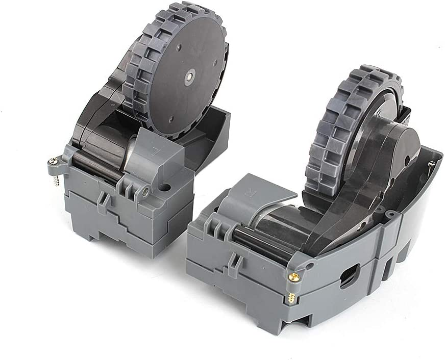 COLOR TREE Right and Left Drive Wheel Module Pair for iRobot Roomba 500 600 700 800 900 Series Interchangeable 880 980 960 860 864