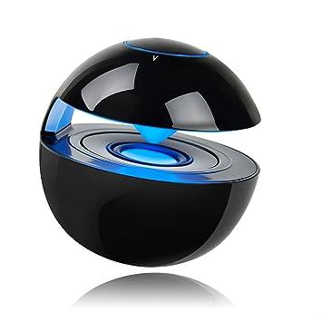 Altavoz Bluetooth Light Up, Altavoz Bluetooth pequeño Recargable al Aire Libre con Tarjeta TF SD, Compatible para Smartphones, PC Tablet, Regalos para ...
