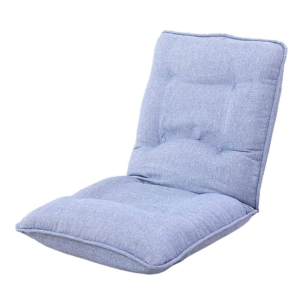 D GWM Sofa Stool Lazy Couch Foldable Single Small Sofa Bay Window Chair Foldable Sofa Stool (color   A)