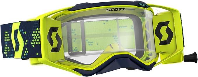 Scott Prospect Wfs Mx Goggle Cross Mtb Brille Gelb Schwarz Klar Works Auto