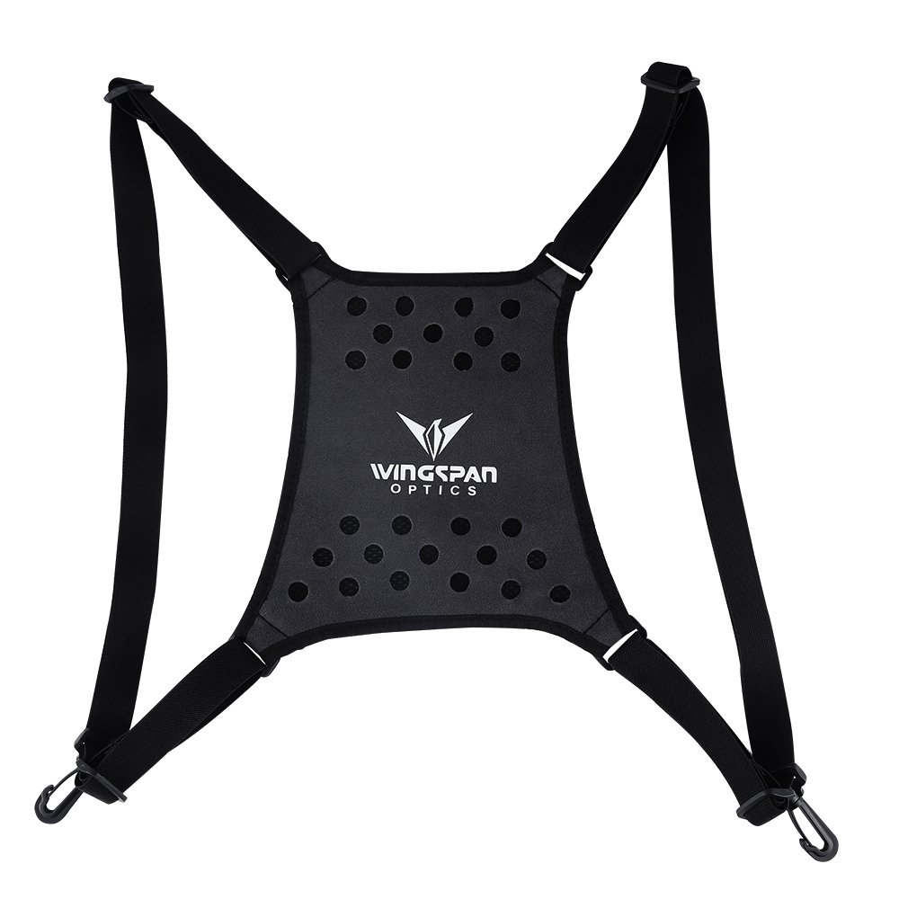 Wingspan Optics Harrier - Bird Watching Binocular Harness Strap. Better Bird Watching Adventures by Having Binoculars Within Reach for Quick Views. Removes Neck Strain from Carrying Heavy Binoculars. by Wingspan Optics (Image #1)