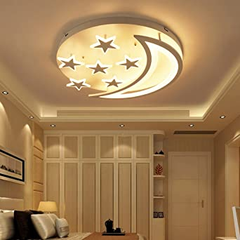 Deckenleuchten Einfache moderne Stern- und Mond-LED ...