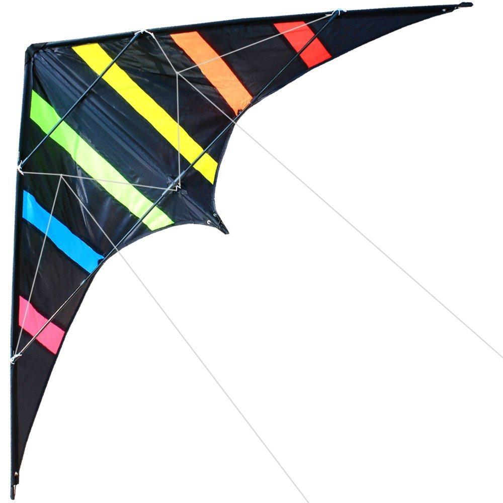 Includes Kite Line and Bag Hengda kite NEW 70 Inch//48 Inch Stunt Kite Outdoor Sport Fun Toys Dual Line Sport Kite