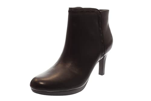 90bd933ecc Clarks Woman Boots Black Leather Black, (Black Leather) 261293574 ...