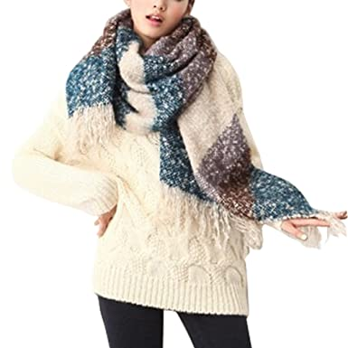 écharpe hiver femme grosse et grande - Idée pour s habiller 0bf15201148