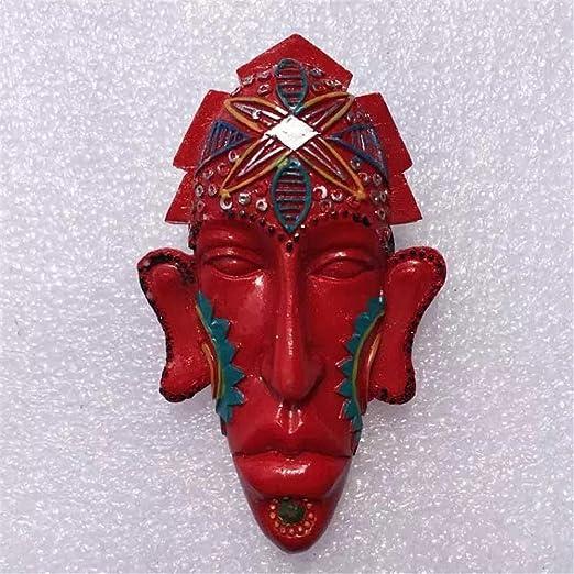 Weekinglo Souvenir Imán de Nevera Máscara Indígena Roja Bali ...