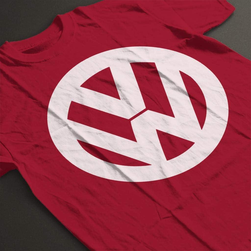 Volkswagen Classic White VW Logo Womens T-Shirt