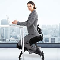 Ergonomic Kneeling Chair Office Home Knee Seat Posture Back Pain Stretch Rest