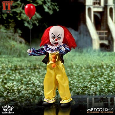 Mezco IT 1990: Pennywise Doll: Toys & Games