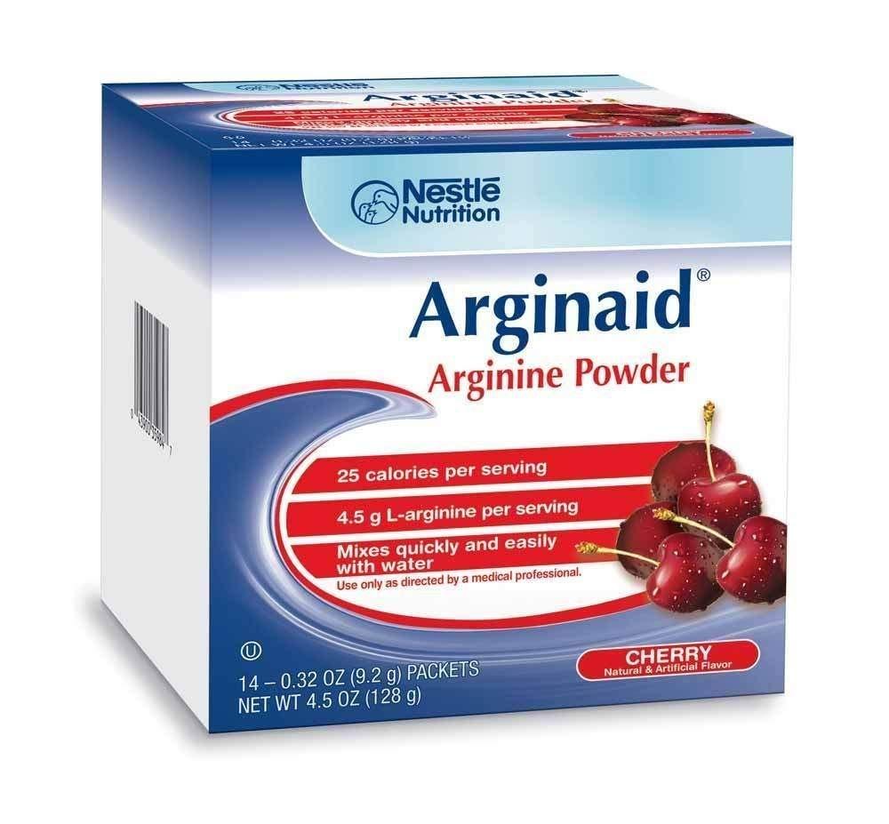 Arginaid Arginine-intensive Cherry Flavor Powdered Mix 9.2g Packet [Case of 56]