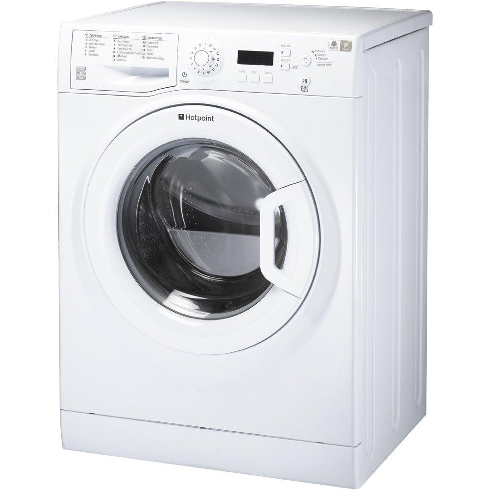 Hotpoint WMBF963P Washing Machine Experience Eco 9kg Polar White:  Amazon.co.uk: Large Appliances