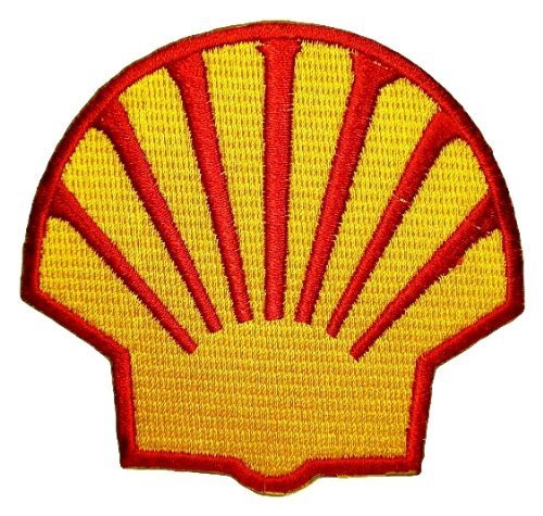 Shell gas station Oil petroleum F1 Patch Sew Iron on for sale  Delivered anywhere in USA