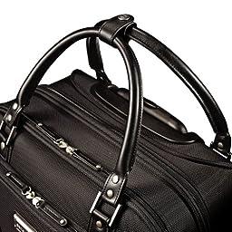 Samsonite Luggage Women\'s Spinner Mobile Office, Black, One Size