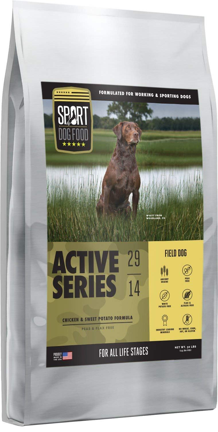 SPORT DOG FOOD Field Dog Peas Flax Free Chicken Formula