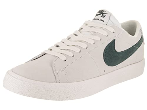 best service 8b9bd 4ee7f NIKE Men s SB Zoom Blazer Low Summit White Deep Jungle Skate Shoe 12 Men  US  Amazon.co.uk  Shoes   Bags