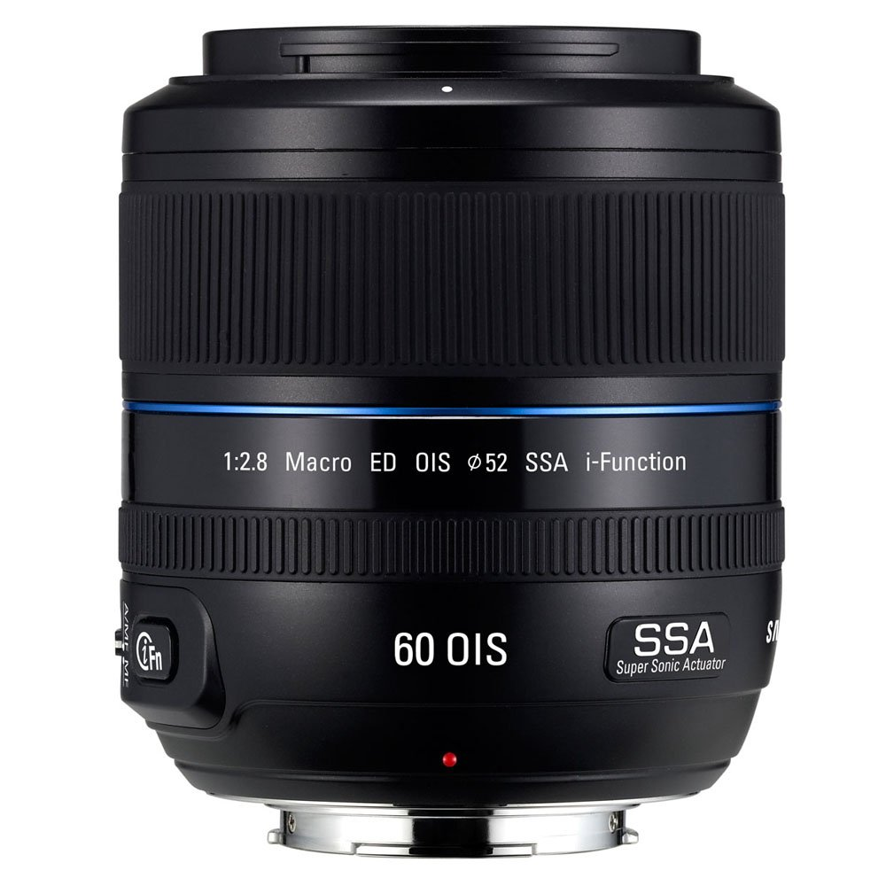 Samsung NX 60 mm f / 2.8マクロカメラレンズ – 固定   B006JGE73A