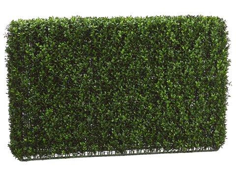 24''Hx7''Wx36''L Boxwood Hedge Two Tone Green by Arcadia Silk Plantation