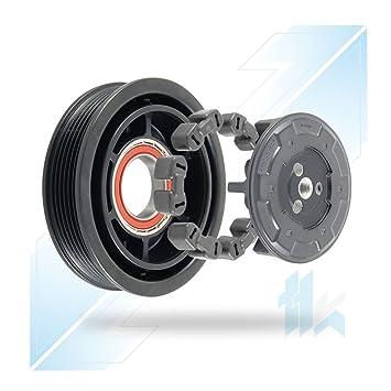 climática Compresor Juego de embrague apto para C4, 308, 508 denso 5sel12 C 6pk (PV6) 119,00 mm: Amazon.es: Coche y moto
