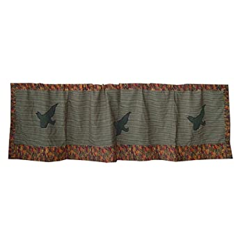 Amazon.com: Lake Loon, Curtain Valance 54 X 16 In.: Home & Kitchen