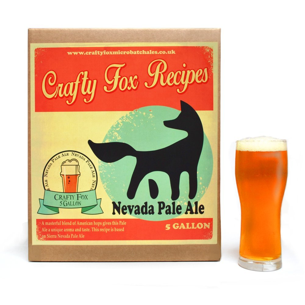 Crafty Fox 5 Gallon All Grain Recipe Refill Kit - Nevada Pale Ale