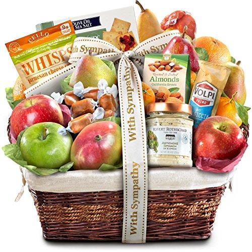 Abundance Gift - Sympathy Abundance Gourmet Fruit Basket Gift