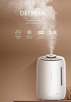 ALONG Original xiaomi 5L humidificador de Aire 35db Tranquilo ...