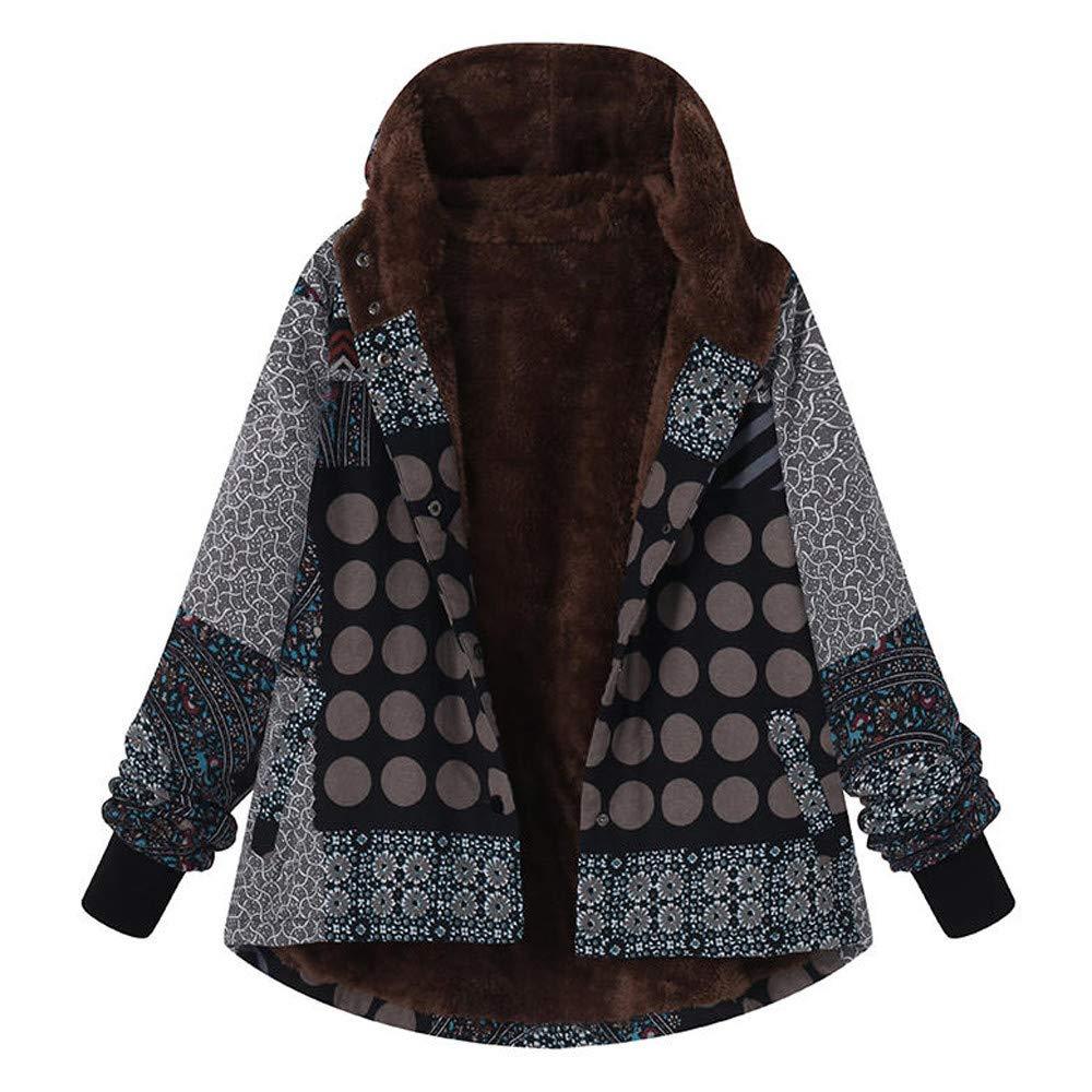 Triskye_Women Coats OUTERWEAR レディース B07K1QZ85D ブラック Medium