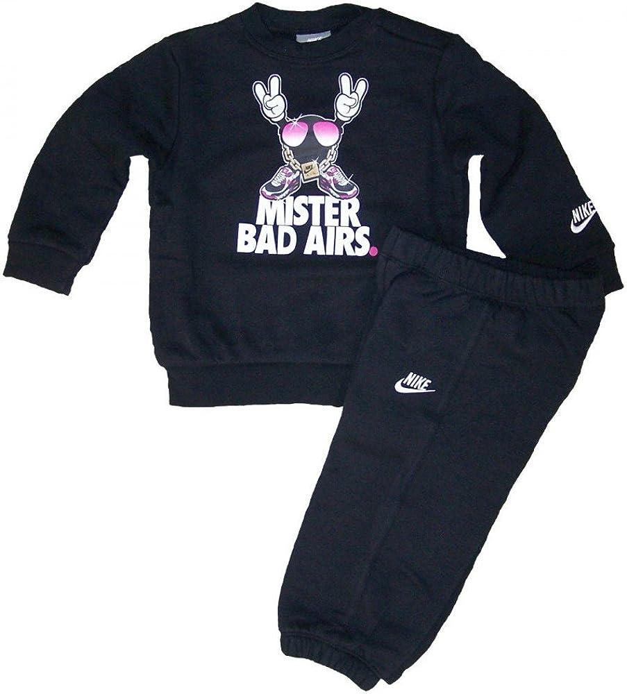 Nike Air Max Bad Airs - Chándal infantil (3 a 36 meses) negro ...