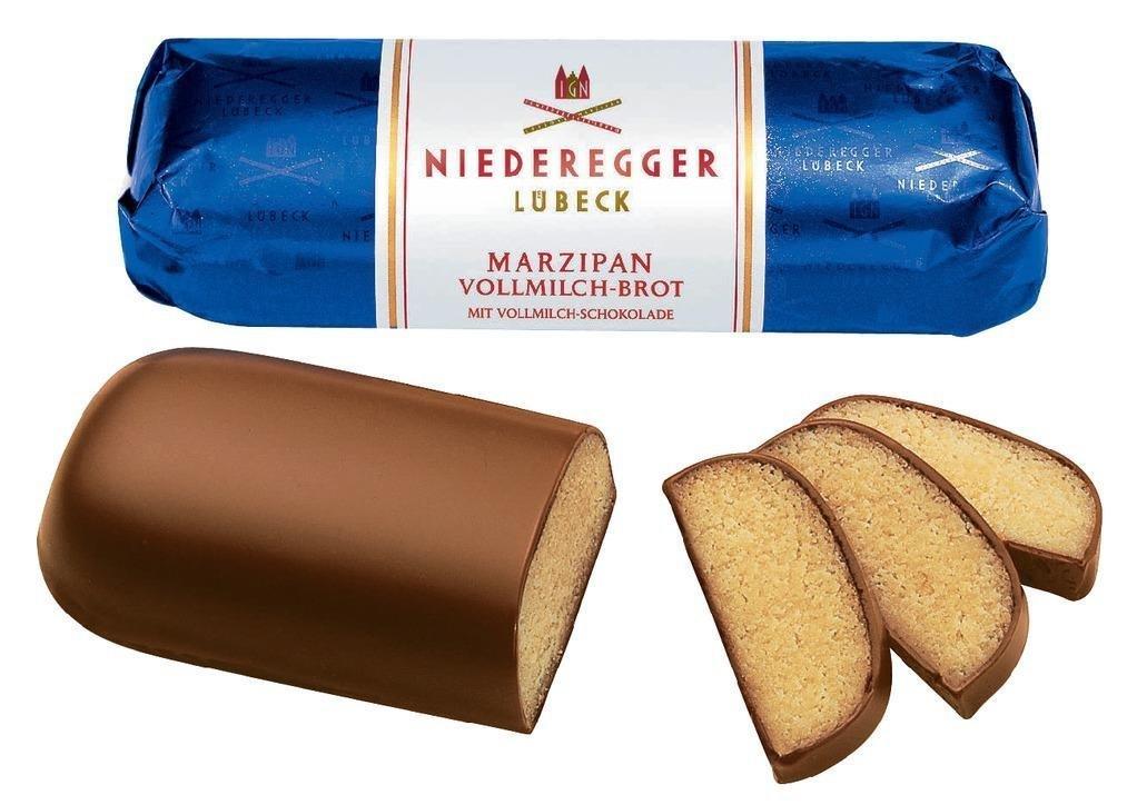 Niederegger Marzipan Milk Chocolate Loaf - 125g/4.4 oz