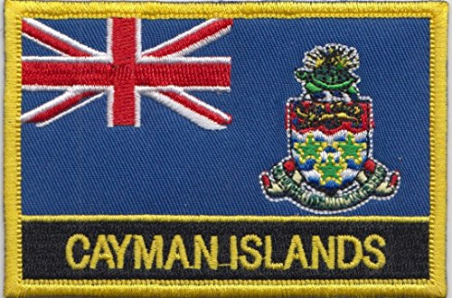 Cayman Islands Country Flag Embroidered Blazer Badge Patch