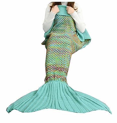 Chica Mujer Disfraz sirena 33660 techo cola Saco de dormir Blanket ...
