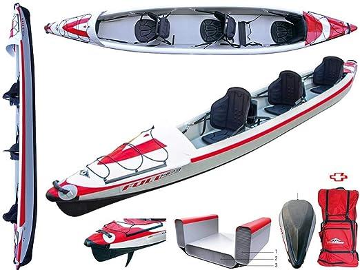 BIC Sport - Canoa Gonfiabile Yakkair Full HP 2 Two 101499 ...