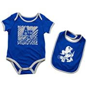 Colosseum Air Force Academy Falcons Baby Bodysuit Look at The Baby Bib Set (0-3 M)