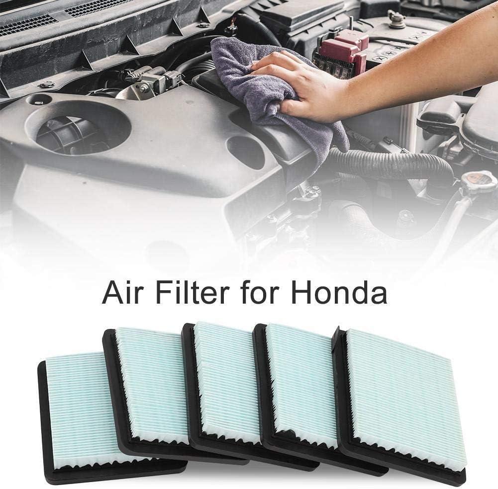 Wolfgo Filtros de Aire-5 x Filtro de Aire compatibles con Honda GC135 GC160 GCV135 GCV160 GCV190 GX100 Motor 17211-ZL8-023