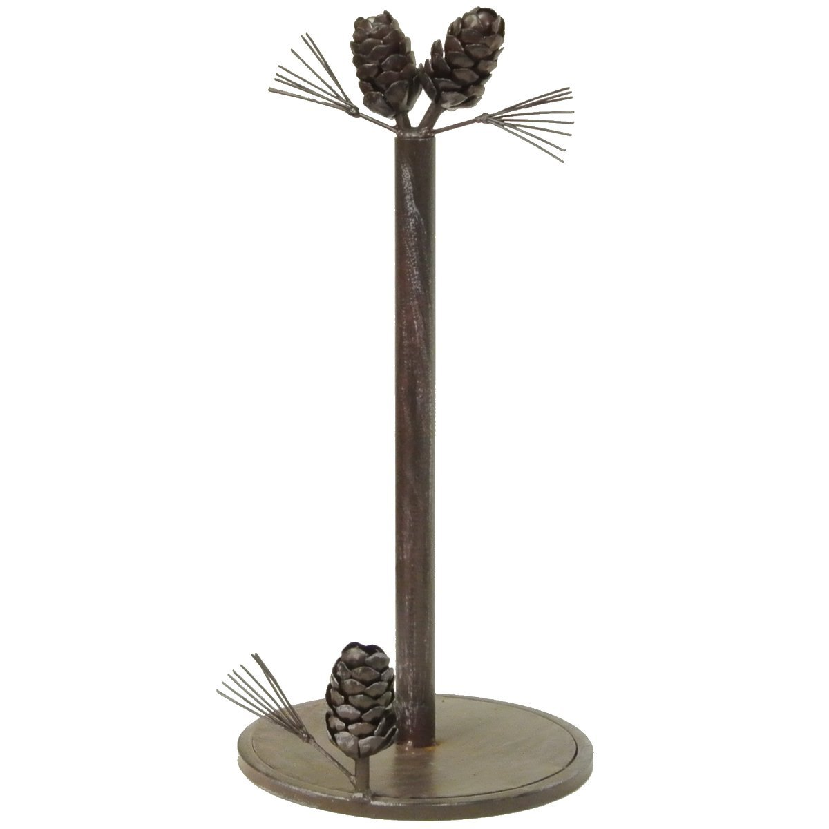 LL Home Pinecone Paper Towel Holder De Leon Collections 21782