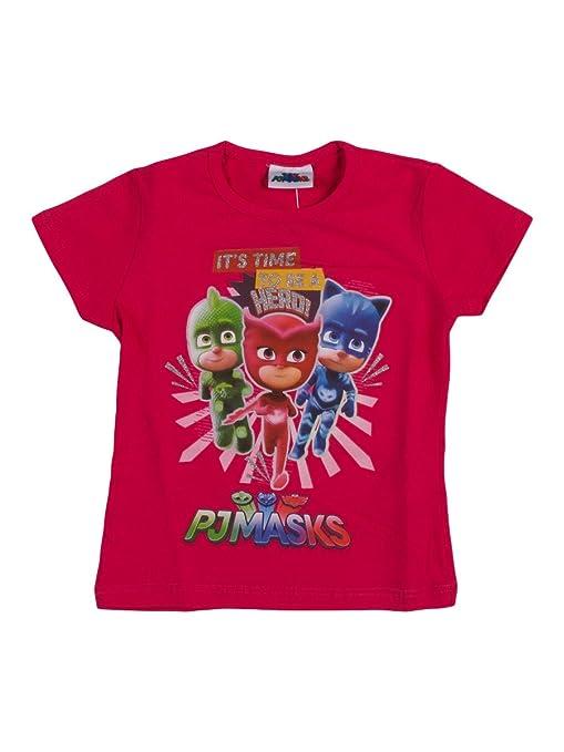 4 opinioni per T-shirt Super Pigiamini da bambina- Maglietta PJ Masks a maniche corte