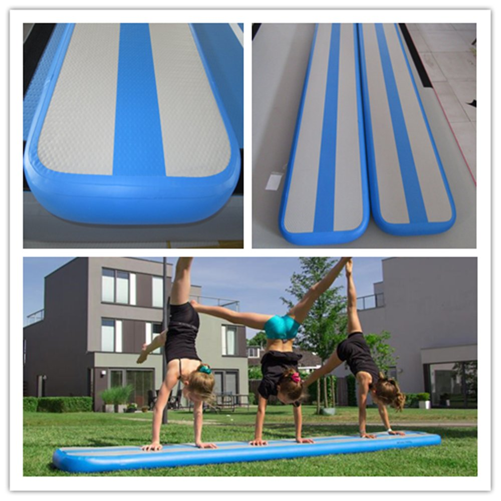 Inflatable Balance Beam Fitness Mat Air Track for Gumnastics Training Beam 10Feet by Great river & hill (Image #2)
