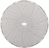 Dickson C417 Circular Chart, 8''/203mm Diameter, 7-Day Rotation, -20/120 F  Range (Pack of 60)