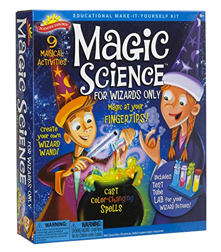Scientific Explorer 0SA247 Magic Science Kit for Wizards Only