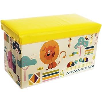 Aufbewahrungsbox Mit Deckel Kinderzimmer staubox und sitzbank aufbewahrungsbox zoo mit deckel 60 x 30 cm