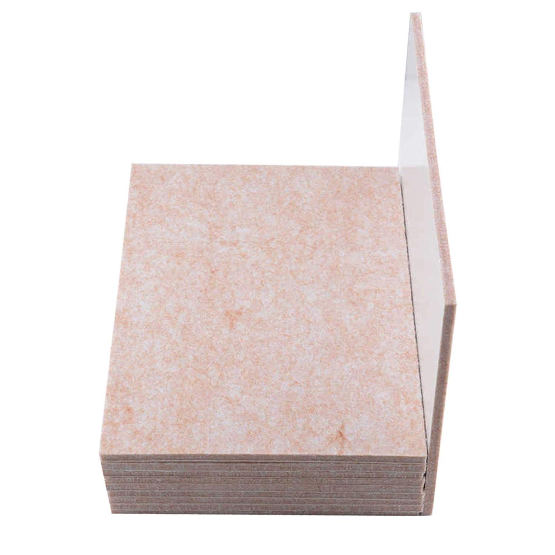 Feltrini protettivi per mobili resistenti 20 x 15 cm 10 pezzi Rhinenet rettangolari 5 mm di spessore Feltrini tagliati per piedi di mobili