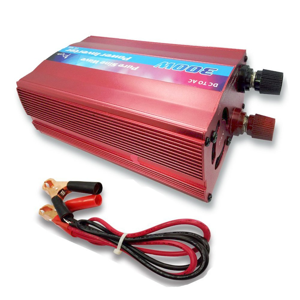 Inverter Converter Pure Sine Wave Power 300W for Solar Panel System DC 12V to AC 230V by TPE