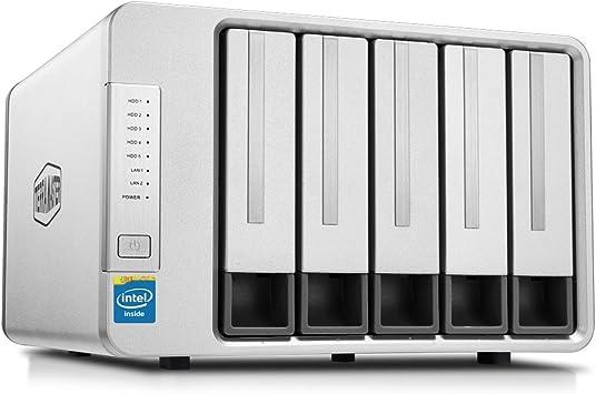 TerraMaster F5-420 - Caja de Servidor NAS 5 Bahías Intel Quad Core 2.0GHz 2GB RAM Almacenamiento en Red(Sin Discos): Amazon.es: Informática