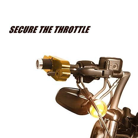 Serrure de frein de moto YuanGu serrure de papillon Verrouillage de s/écurit/é en alliage daluminium serrure anti-vol Guidon de poign/ée de papillon
