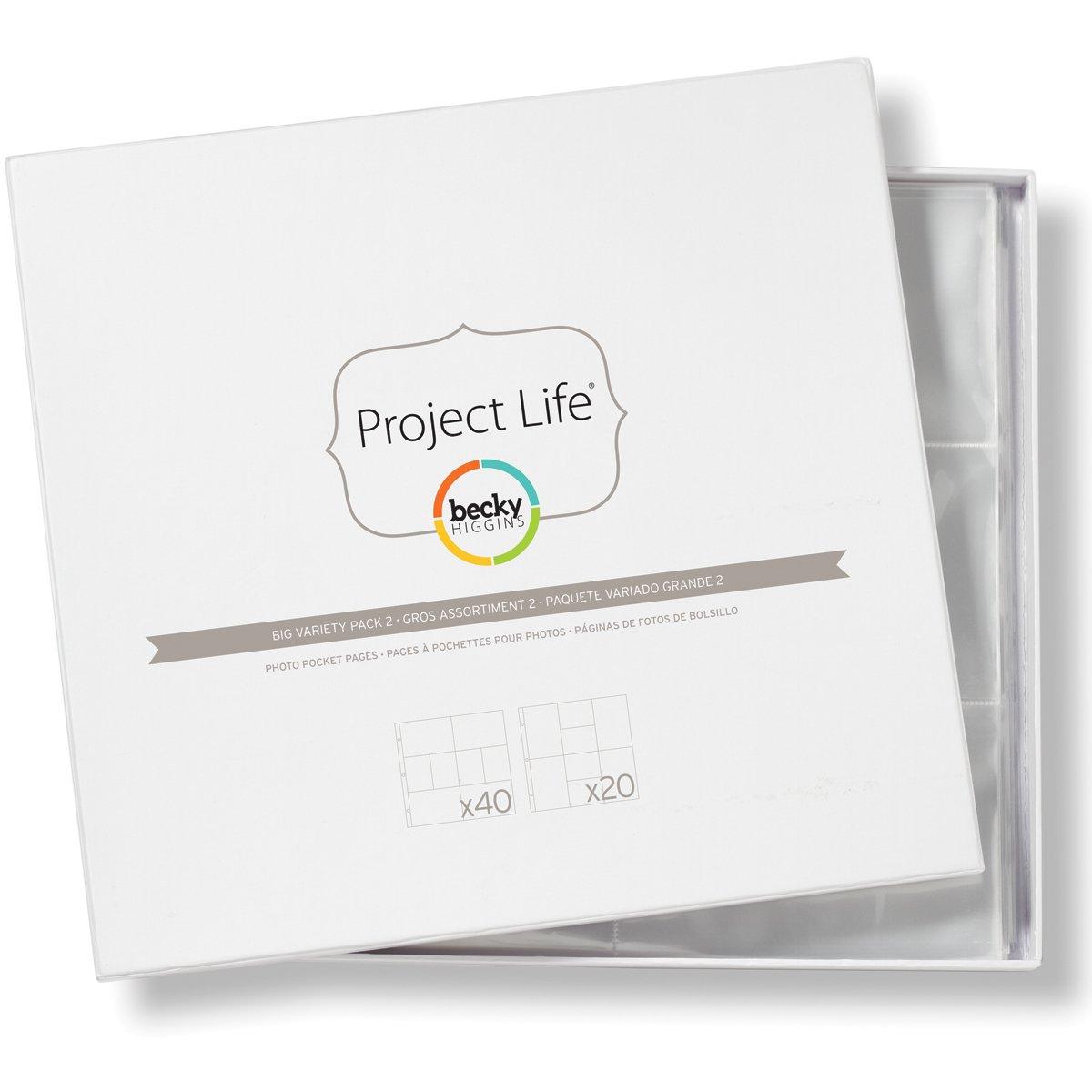 Simple Stories Mix and Match 3/por 4//4-inch por 15,24/cm Protectores de p/ágina