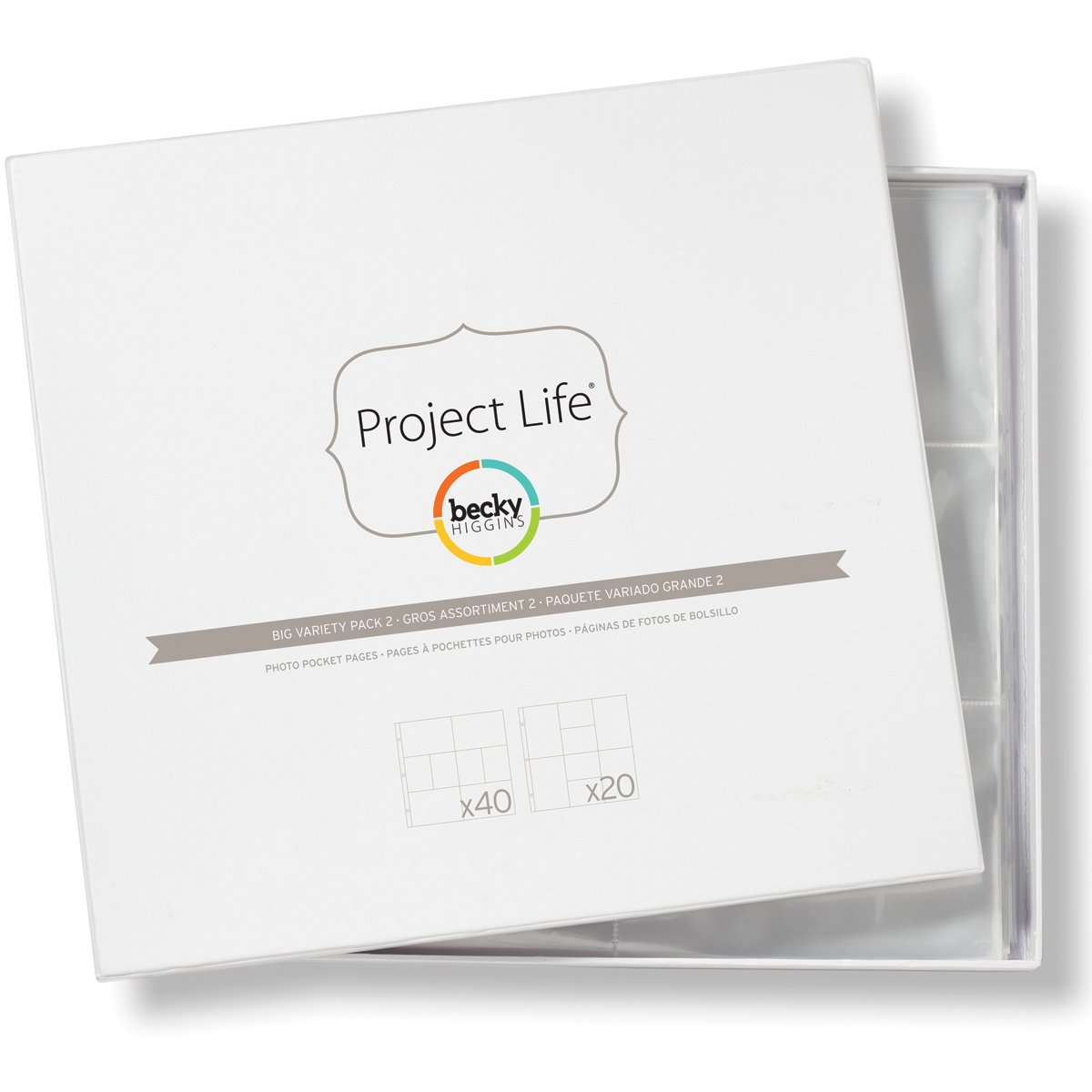 Project Life by Becky Higgins Photo Pocket Pages - Big Variety Pack 2