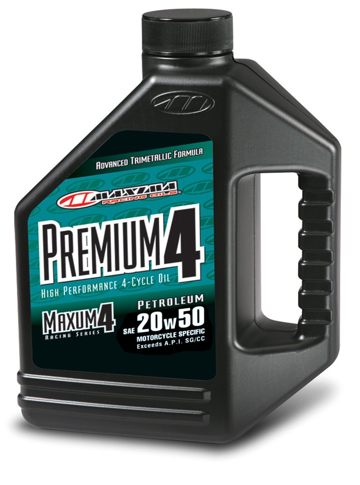Maxima (359128) Premium4 20W-50 Motorcycle Engine Oil - 1 Gallon Jug