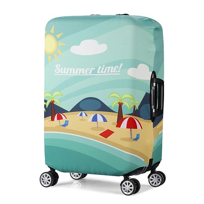 Amazon.com: Funda protectora para maleta de viaje con diseño ...